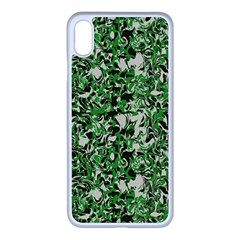 Modern Camouflage Pattern Iphone Xs Max Seamless Case (white) by tarastyle
