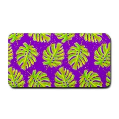 Neon Tropical Flowers Pattern Medium Bar Mats by tarastyle