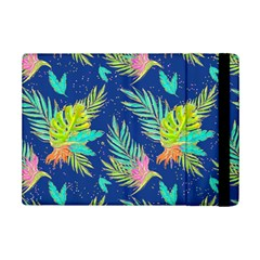Neon Tropical Flowers Pattern Ipad Mini 2 Flip Cases by tarastyle