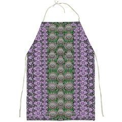 Decorative Juwel And Pearls Ornate Full Print Aprons by pepitasart