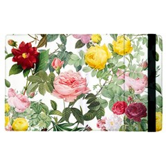 Elegant Vintage Flowers Pattern  Apple Ipad Pro 12 9   Flip Case by tarastyle