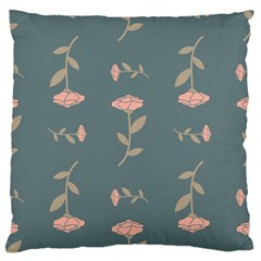 Florets Rose Flower Standard Flano Cushion Case (one Side)