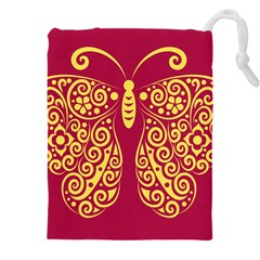 Butterfly Insect Bug Decoration Drawstring Pouch (xxxl)