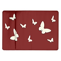 Heart Love Butterflies Animal Samsung Galaxy Tab 10 1  P7500 Flip Case