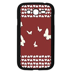 Heart Love Butterflies Animal Samsung Galaxy Grand Duos I9082 Case (black) by HermanTelo