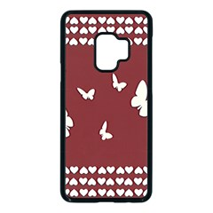 Heart Love Butterflies Animal Samsung Galaxy S9 Seamless Case(black) by HermanTelo