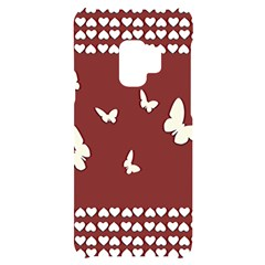 Heart Love Butterflies Animal Samsung S9 Black Uv Print Case