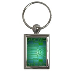 Board Conductors Circuits Key Chains (rectangle)  by HermanTelo