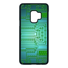 Board Conductors Circuits Samsung Galaxy S9 Seamless Case(black)