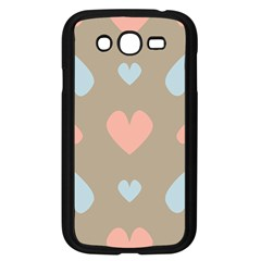 Hearts Heart Love Romantic Brown Samsung Galaxy Grand Duos I9082 Case (black) by HermanTelo