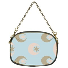 Moon Star Air Heaven Chain Purse (one Side) by HermanTelo