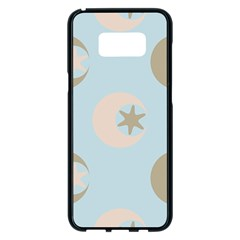 Moon Star Air Heaven Samsung Galaxy S8 Plus Black Seamless Case
