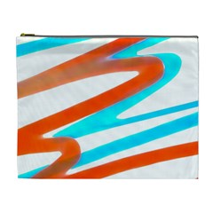 Abstract Colors Print Design Cosmetic Bag (xl) by dflcprintsclothing