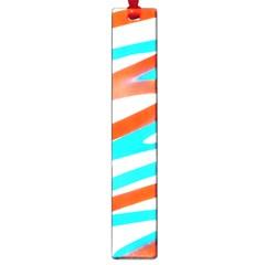 Abstract Colors Print Design Large Book Marks by dflcprintsclothing