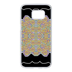 Pearls As Candy Samsung Galaxy S7 Edge White Seamless Case by pepitasart