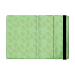 Leaves   Light Green Ipad Mini 2 Flip Cases by WensdaiAddamns