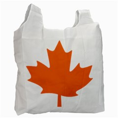 Logo Of New Democratic Party Of Canada Recycle Bag (two Side) by abbeyz71