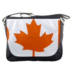 Logo Of New Democratic Party Of Canada Messenger Bag