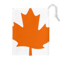 Logo Of New Democratic Party Of Canada Drawstring Pouch (xl) by abbeyz71