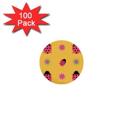 Ledy Bird 1  Mini Buttons (100 Pack)  by HermanTelo