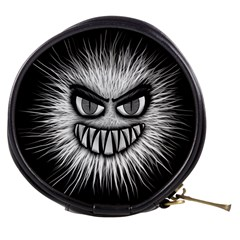 Monster Black White Eyes Mini Makeup Bag by HermanTelo