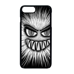 Monster Black White Eyes Iphone 8 Plus Seamless Case (black)