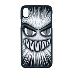 Monster Black White Eyes Iphone Xr Seamless Case (black)