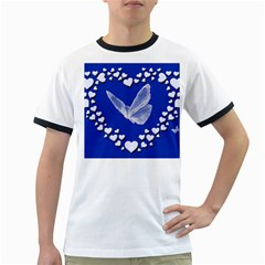 Heart Love Butterfly Mother S Day Ringer T