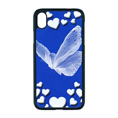 Heart Love Butterfly Mother S Day Iphone Xr Seamless Case (black)
