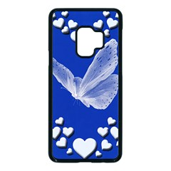 Heart Love Butterfly Mother S Day Samsung Galaxy S9 Seamless Case(black)