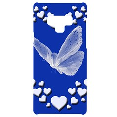 Heart Love Butterfly Mother S Day Samsung Note 9 Black Uv Print Case  by HermanTelo