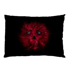 Monster Red Eyes Aggressive Fangs Ghost Pillow Case (two Sides)