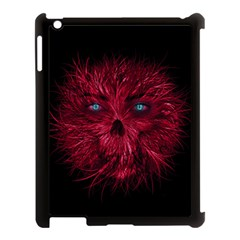 Monster Red Eyes Aggressive Fangs Ghost Apple Ipad 3/4 Case (black) by HermanTelo