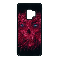 Monster Red Eyes Aggressive Fangs Ghost Samsung Galaxy S9 Seamless Case(black) by HermanTelo