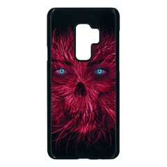 Monster Red Eyes Aggressive Fangs Ghost Samsung Galaxy S9 Plus Seamless Case(black) by HermanTelo