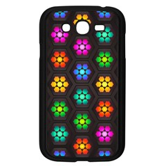 Pattern Background Colorful Design Samsung Galaxy Grand Duos I9082 Case (black) by HermanTelo
