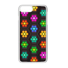 Pattern Background Colorful Design Iphone 8 Plus Seamless Case (white)