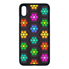 Pattern Background Colorful Design Iphone Xs Max Seamless Case (black)