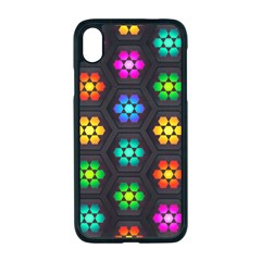 Pattern Background Colorful Design Iphone Xr Seamless Case (black)