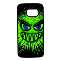 Monster Green Evil Common Samsung Galaxy S7 Black Seamless Case