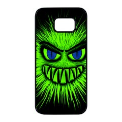 Monster Green Evil Common Samsung Galaxy S7 Edge Black Seamless Case by HermanTelo