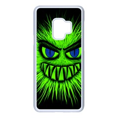 Monster Green Evil Common Samsung Galaxy S9 Seamless Case(white)