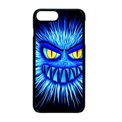 Monster Blue Attack Iphone 8 Plus Seamless Case (black)