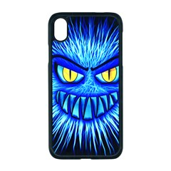 Monster Blue Attack Iphone Xr Seamless Case (black)