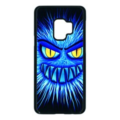 Monster Blue Attack Samsung Galaxy S9 Seamless Case(black)
