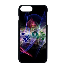 Particles Music Clef Wave Iphone 8 Plus Seamless Case (black)