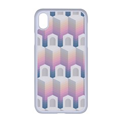 Seamless Pattern Background Entrance Iphone Xr Seamless Case (white)