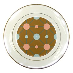 Planets Planet Around Rounds Porcelain Plates by HermanTelo