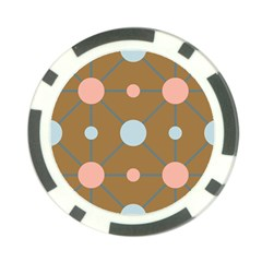Planets Planet Around Rounds Poker Chip Card Guard by HermanTelo