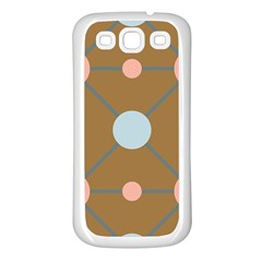 Planets Planet Around Rounds Samsung Galaxy S3 Back Case (white)